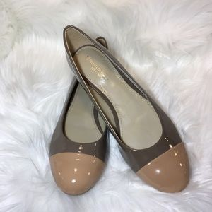 Naturalizer Applause beige w/ tan toe size 8.5N
